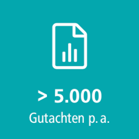 Mehr als 5000 Gutachten im Jahr