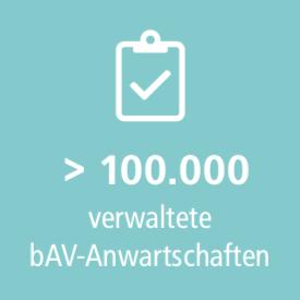 100000 bAV Anwartschaften